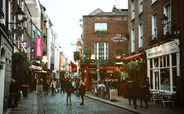 a street in Ireland