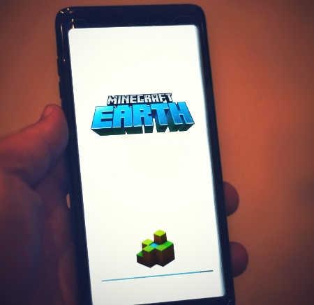 Minecraft on phone
