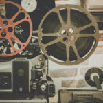 an old film reel