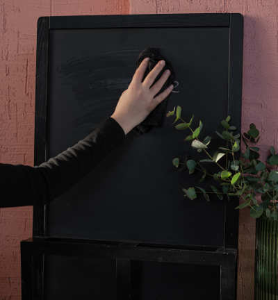 something being erased from a chalkboard